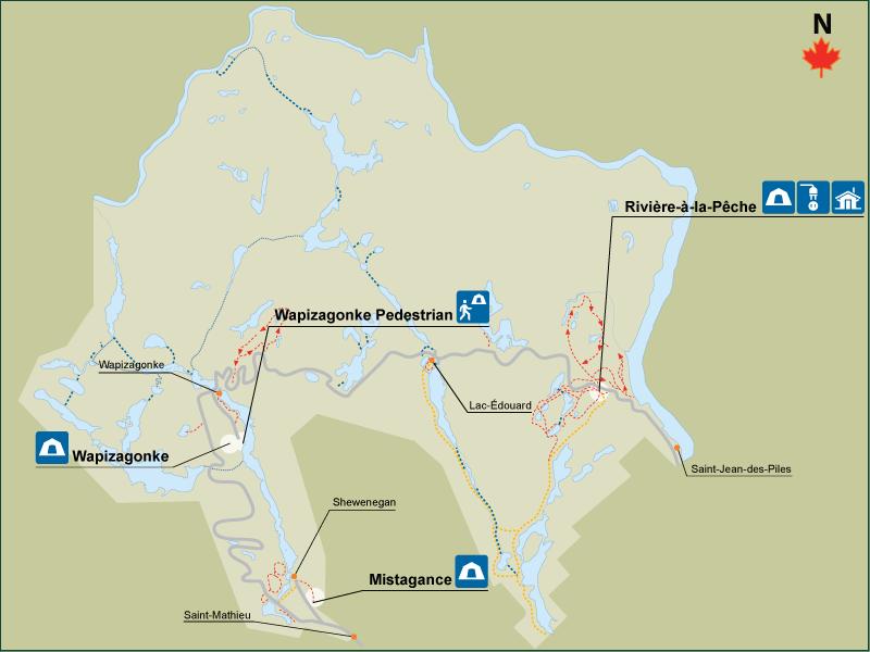 LaMauricie-Map