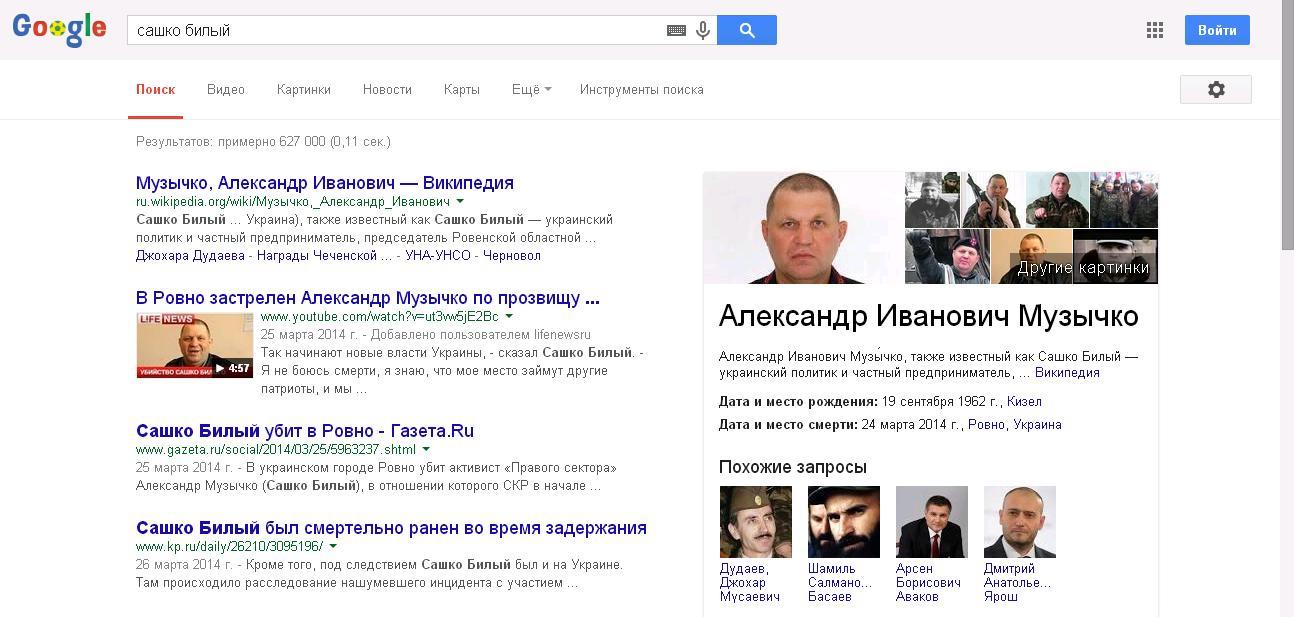 Гугл-Сашко-Аваков-Ярош