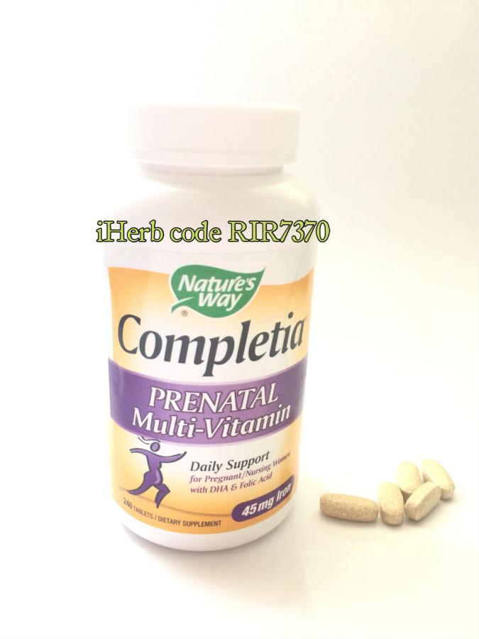 Iherb лучшие витамины для беременных 8