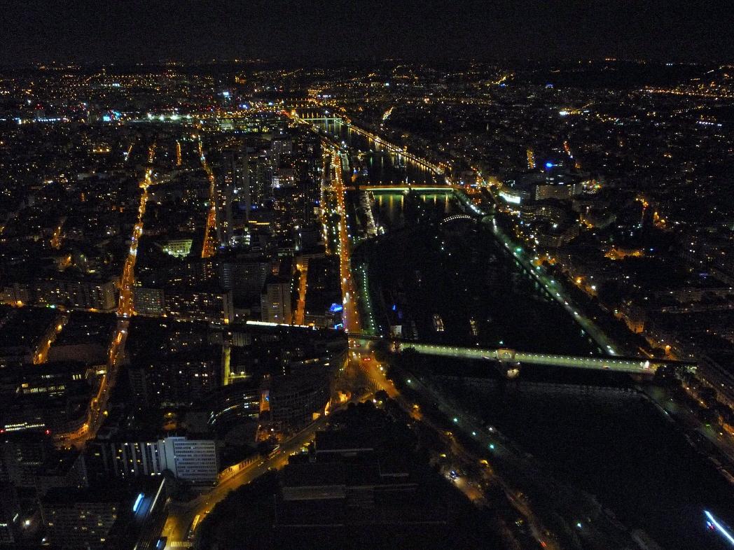 Ночь город