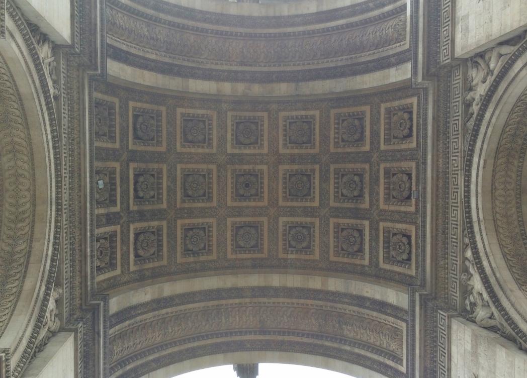 Потолок арки