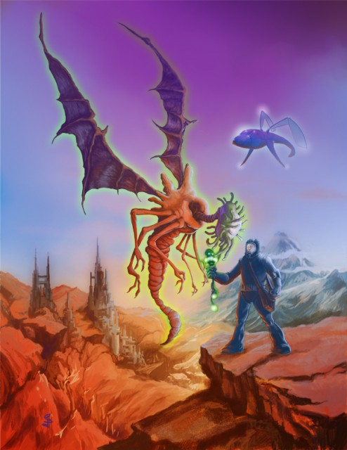 Eldritch Skies Front Cover