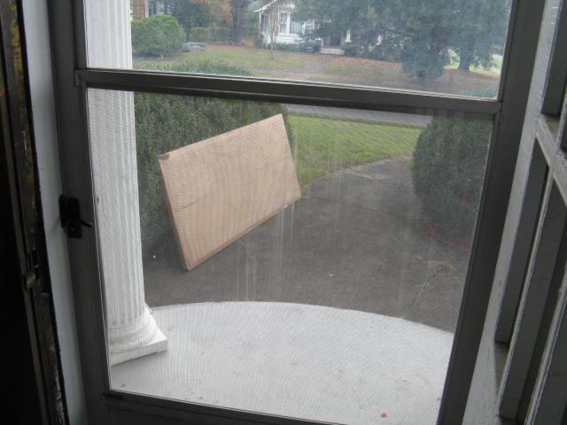 The Story Of Two New Storm Doors Die Geschichte Von Zwei