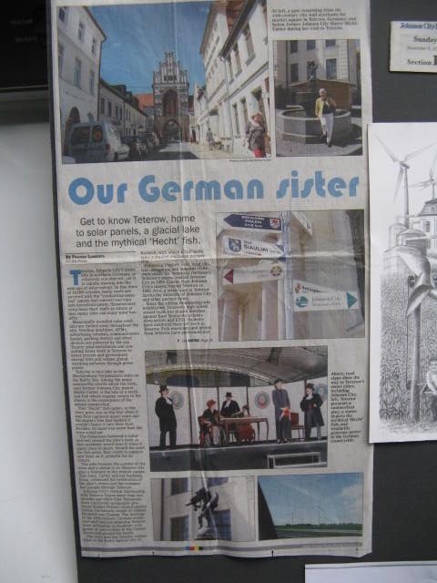 SISTER CITIES: Teterow, Germany & Johnson City, Tennessee