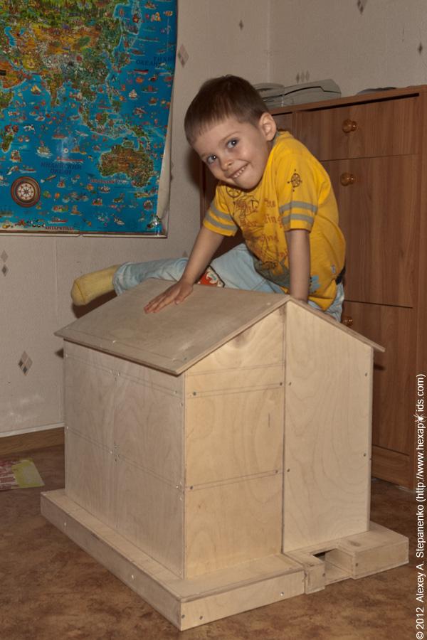 Кукольный домик схема с размерами фото 176