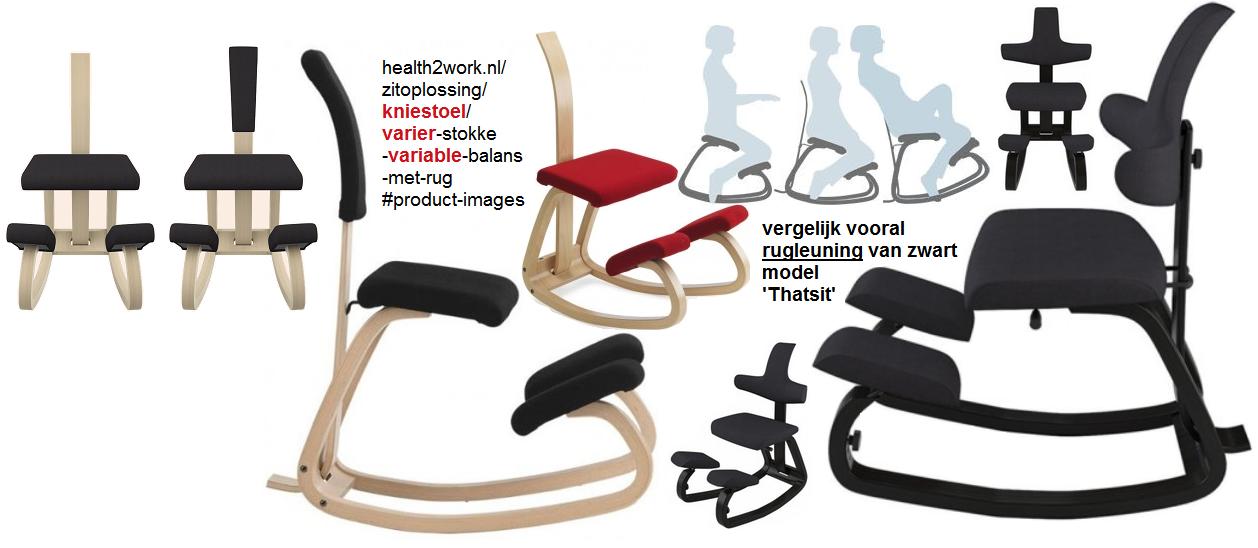 Stokke Thatsit Bureaustoel.Voor Varier Variable Balans Kniestoelen Nu Rugleuningen Review