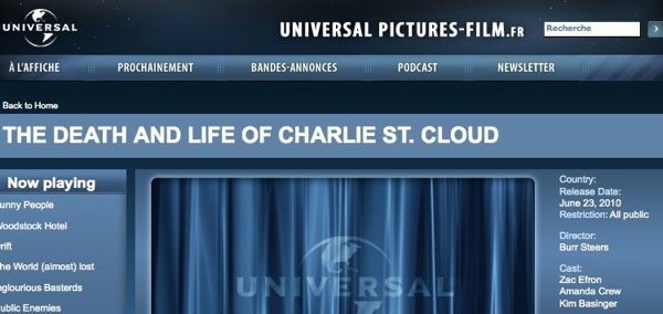 Zac Efron, Charlie St. Cloud to be released June 23?