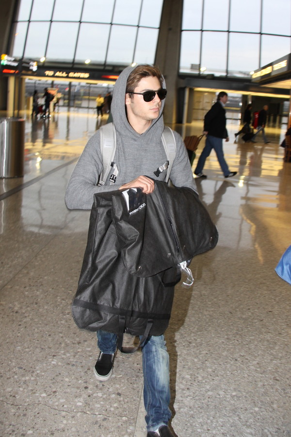 Zac Efron traveling for Me and Orson Welles!