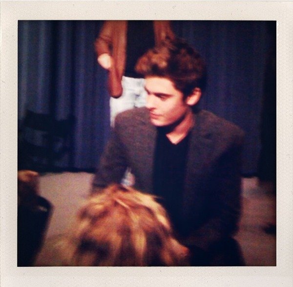 Zac Efron at the SAG Screening for Me and Orson Welles