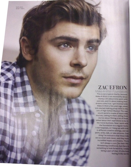 Zac Efron in InStyle magazine from December 2009... gorgeous!
