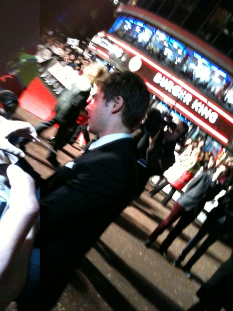 Zac Efron at the London Me and Orson Welles premiere!