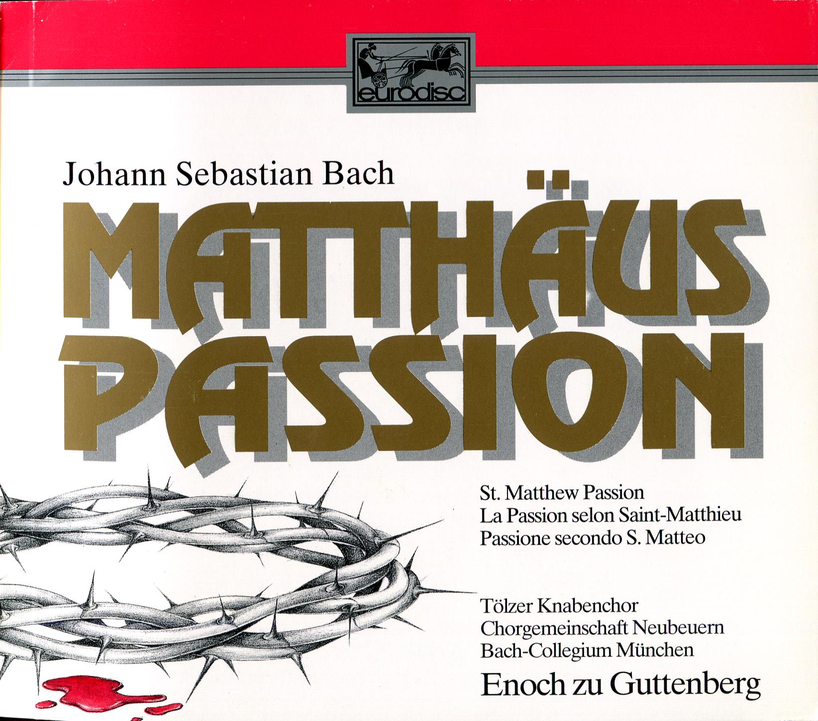 Bach - Matthew - Guttenberg