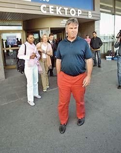 Красные штаны Хиддинка