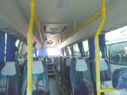 салон автобуса Higer 6826GQ