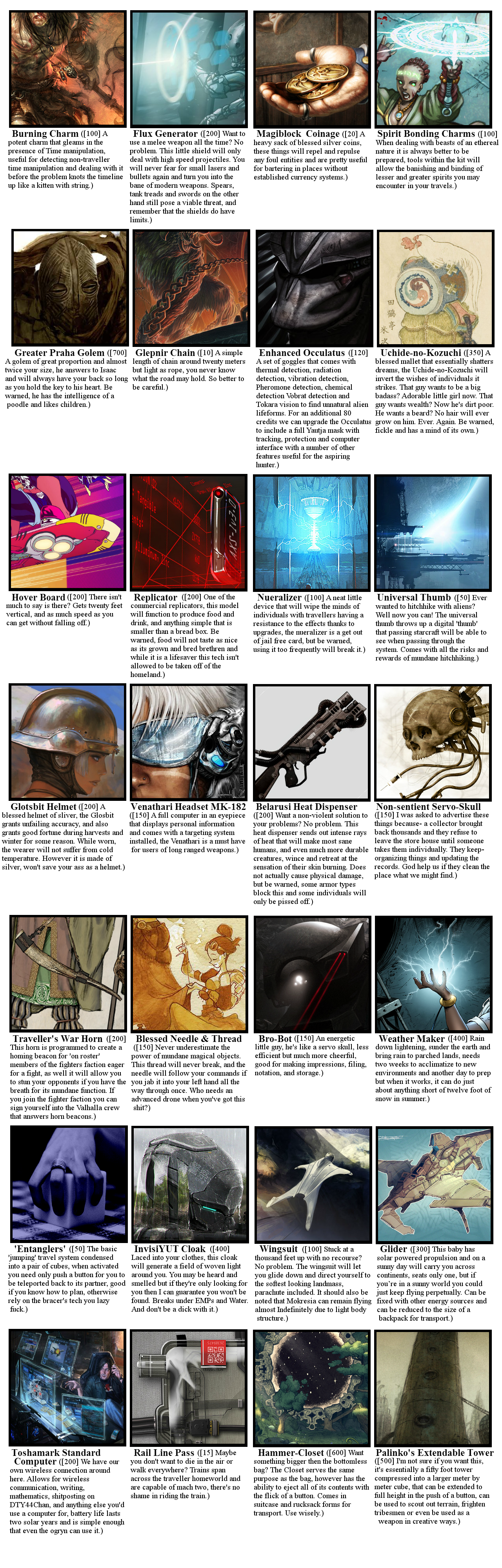 Traveller CYOA, Log VII, Now being mailed Whey, please stop