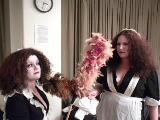 Dueling Magenta's Me and Liz