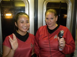 Me with Uhura