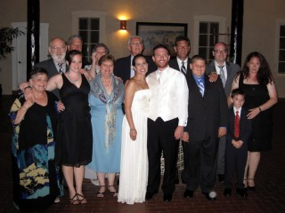 My family with the Bride & Groom