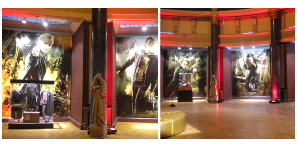 Harry Potter in London Film Museum 2