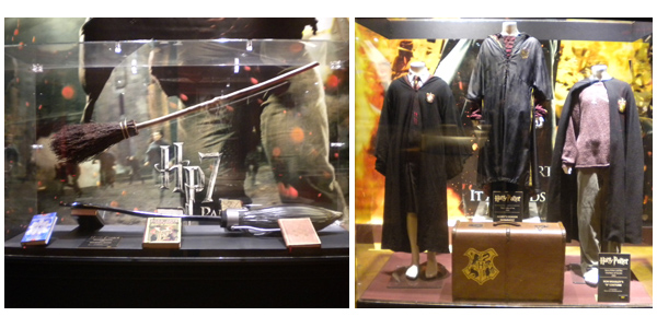 Harry Potter in London Film Museum 3