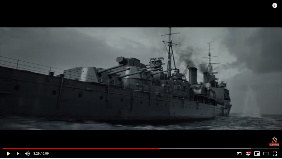 неизвестный корабль