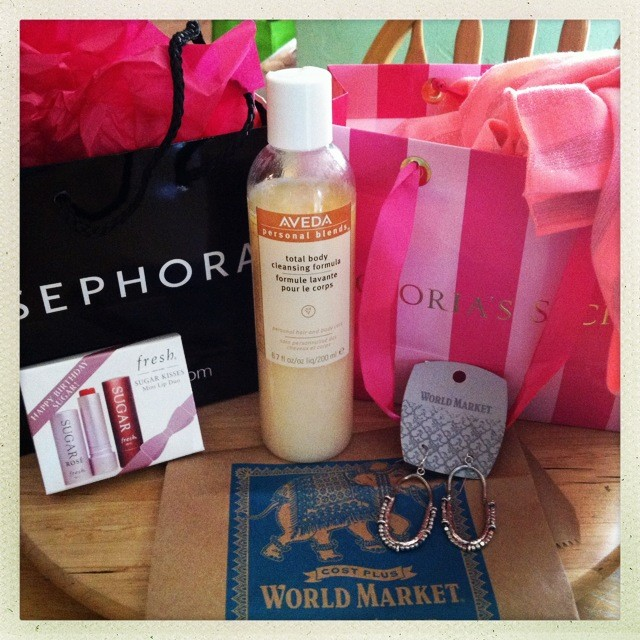 Sephora Every Year On Your Birthday Or During The Month Of Bday Presents You With A Gift Their Choice Usually About 10 Value