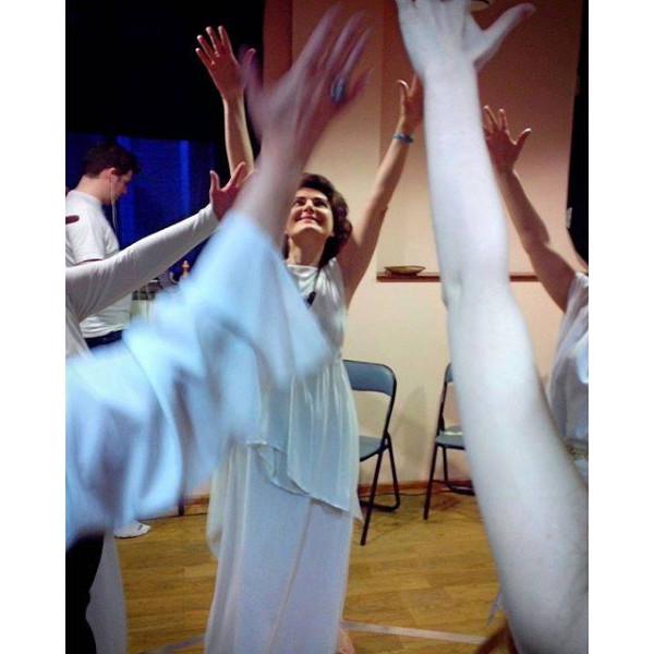 Репетиция ритуала Юпитера - вакханка