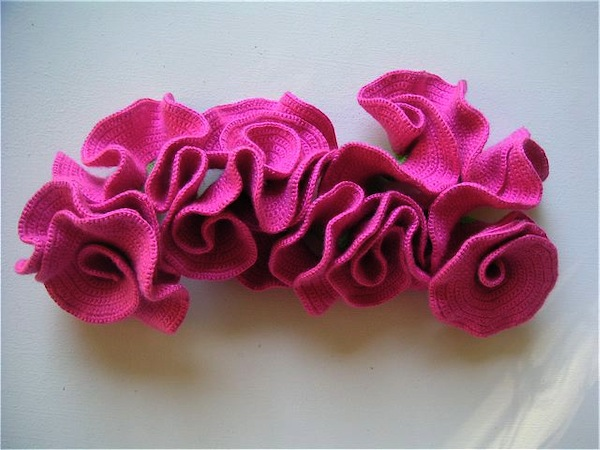 Hyperbolic Space Crochet Models: hippo_regius