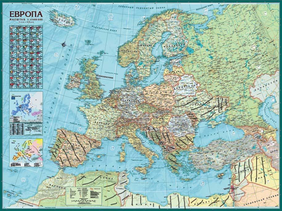 карта Европы-1