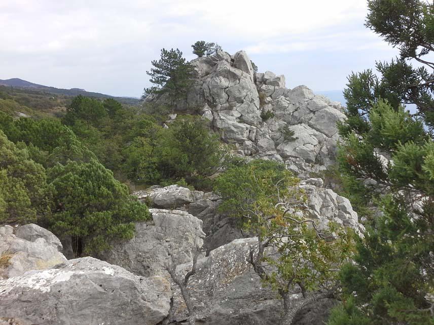 горы скала мини