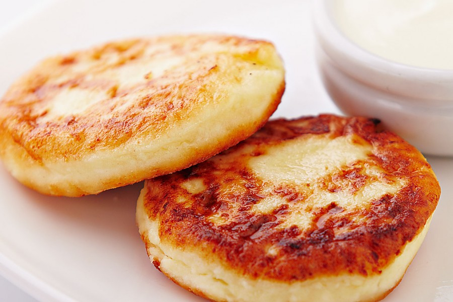 Сырники из пачки творога 180 грамм