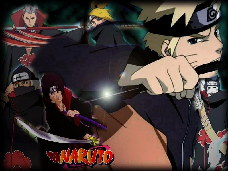 wallpaper naruto shippuden akatsuki. Naruto Shippuuden wallpapers