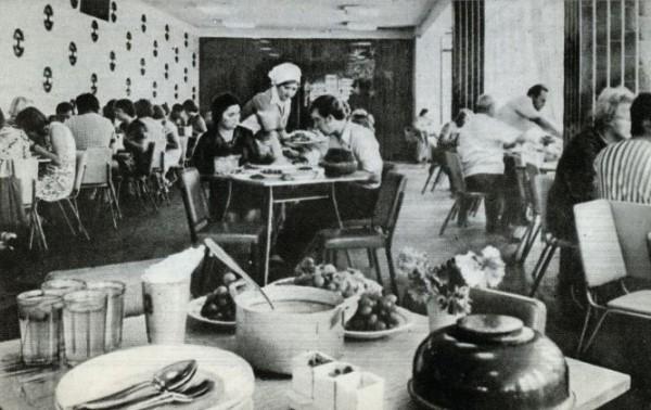 9. Внутренний интреьер столовой 1970е