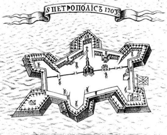 «Новый способ арифметики, феорики или зрительные…». Офорт Ф. Никитина и М. Петрова. 1705 г. Фрагмент.