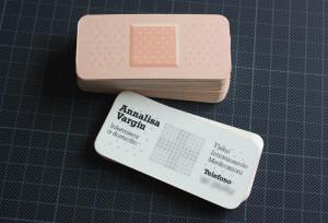 визитка пластырь
