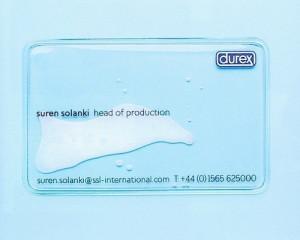 визитка дюрекс