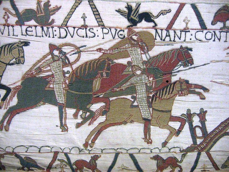 Рыцарская конница в битве при Гастингсе