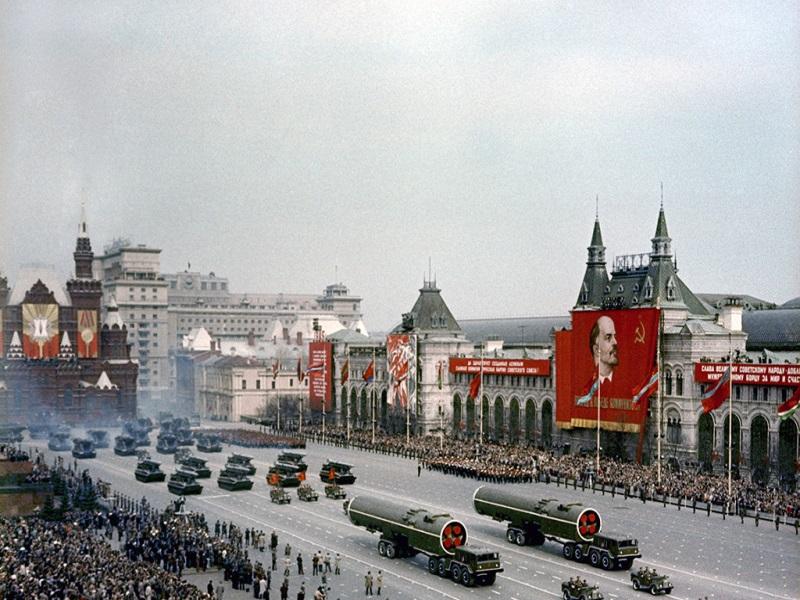 Парад Победы 9 мая 1965 года