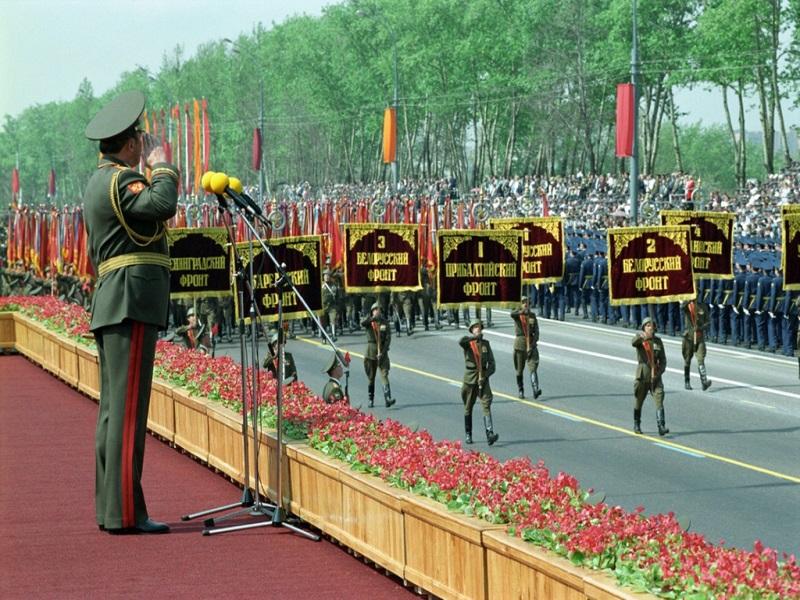 Парад Победы 1995 года на Поклонной горе
