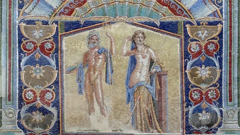 Мозаика Нептуна и Амфитриты
