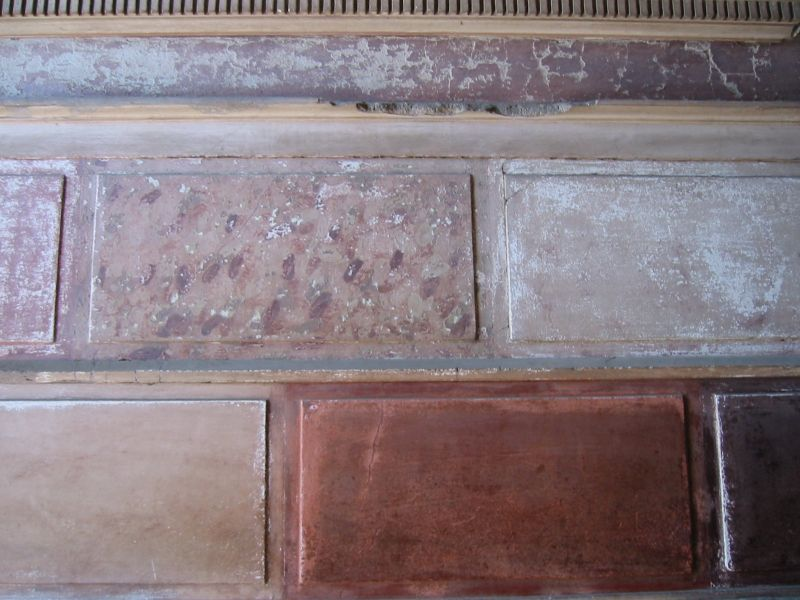 Фреска Самнитского дома