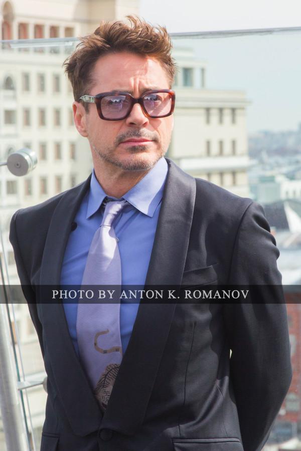 Роберт Дауни младший в Москве