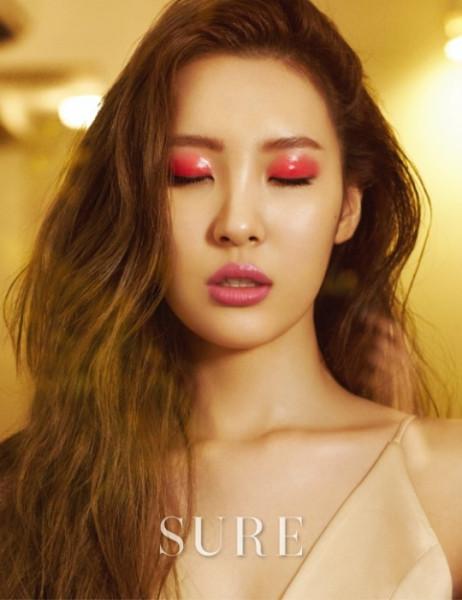 Sunmi X Sure Magazine Omona They Didn T Endless Charms