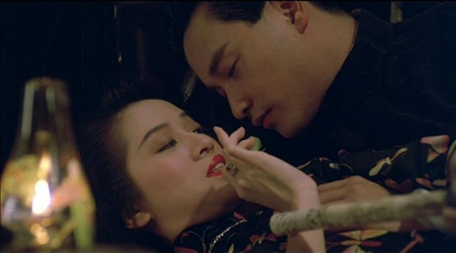 Leslie Cheung and Anita Mui in Rouge