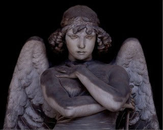AAW 2010 - Angel on Oneto tomb at Staglieno Cemetery, Genoa - Italy