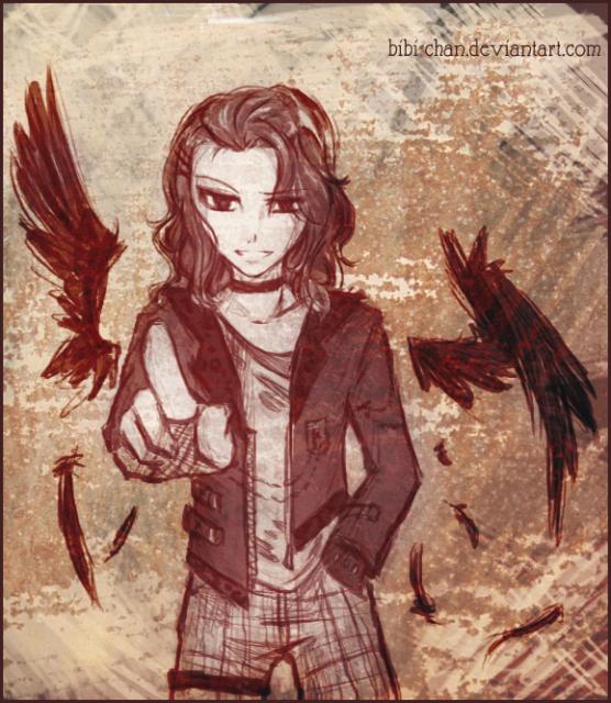 Armand as a punk vampire by Bibi-chan