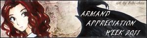 Armand Appreciation Week 2011 banner