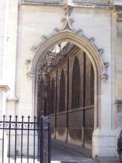 nice goth door...