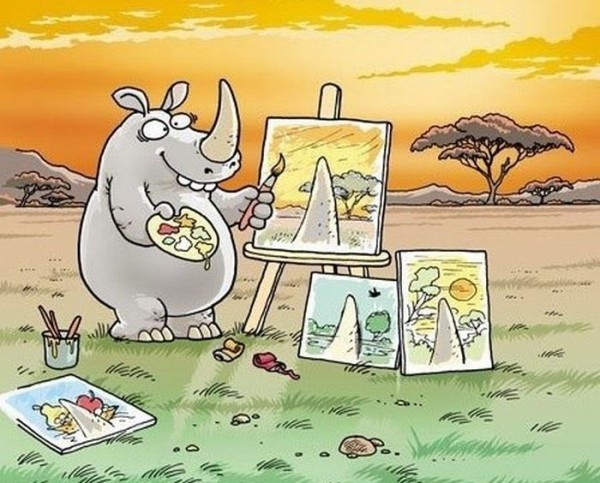 носорог-художник-удалённое-54521