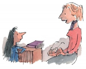 now-tell-me-matilda-miss-honey-said-matilda-roald-dahl-limited-collectors-edition-lithograph-516681-0-1408550980000